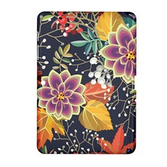 Autumn Flowers Pattern 10 Samsung Galaxy Tab 2 (10 1 ) P5100 Hardshell Case  by tarastyle