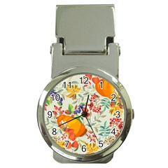 Autumn Flowers Pattern 11 Money Clip Watches by tarastyle
