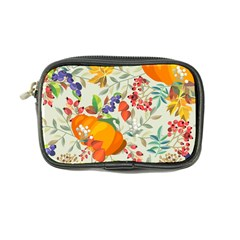 Autumn Flowers Pattern 11 Coin Purse by tarastyle