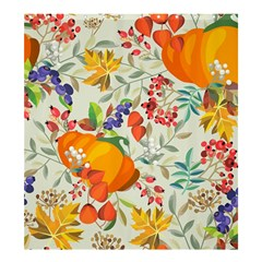 Autumn Flowers Pattern 11 Shower Curtain 66  X 72  (large)  by tarastyle