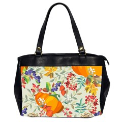 Autumn Flowers Pattern 11 Office Handbags (2 Sides)  by tarastyle