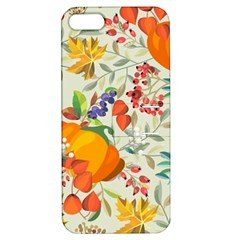 Autumn Flowers Pattern 11 Apple Iphone 5 Hardshell Case With Stand by tarastyle