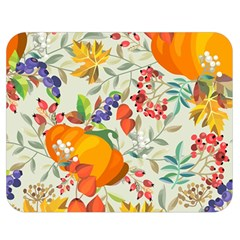 Autumn Flowers Pattern 11 Double Sided Flano Blanket (medium)  by tarastyle