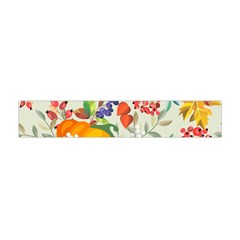 Autumn Flowers Pattern 11 Flano Scarf (mini) by tarastyle