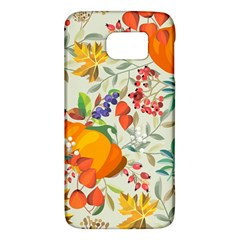 Autumn Flowers Pattern 11 Galaxy S6 by tarastyle