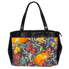 Autumn Flowers Pattern 12 Office Handbags (2 Sides)  by tarastyle