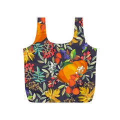 Autumn Flowers Pattern 12 Full Print Recycle Bags (s)  by tarastyle