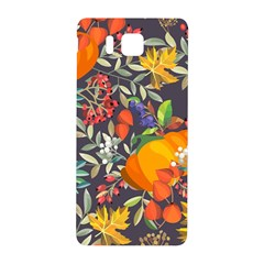 Autumn Flowers Pattern 12 Samsung Galaxy Alpha Hardshell Back Case by tarastyle