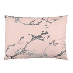 Luxurious Pink Marble 1 Pillow Case by tarastyle