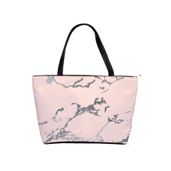 Luxurious Pink Marble 1 Shoulder Handbags by tarastyle