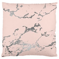 Luxurious Pink Marble 1 Large Cushion Case (one Side) by tarastyle