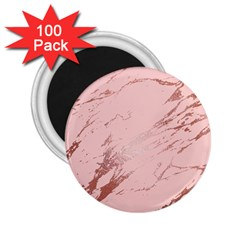 Luxurious Pink Marble 3 2 25  Magnets (100 Pack)  by tarastyle