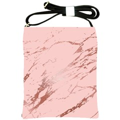 Luxurious Pink Marble 3 Shoulder Sling Bags by tarastyle