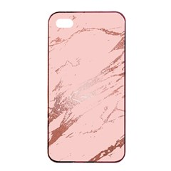Luxurious Pink Marble 3 Apple Iphone 4/4s Seamless Case (black) by tarastyle