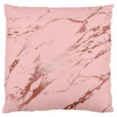 Luxurious Pink Marble 3 Large Cushion Case (one Side) by tarastyle