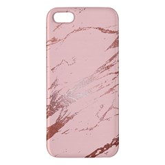Luxurious Pink Marble 3 Apple Iphone 5 Premium Hardshell Case by tarastyle