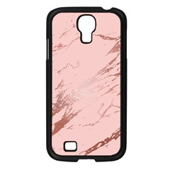 Luxurious Pink Marble 3 Samsung Galaxy S4 I9500/ I9505 Case (black) by tarastyle