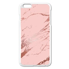 Luxurious Pink Marble 3 Apple Iphone 6 Plus/6s Plus Enamel White Case by tarastyle