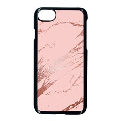 Luxurious Pink Marble 3 Apple Iphone 7 Seamless Case (black) by tarastyle