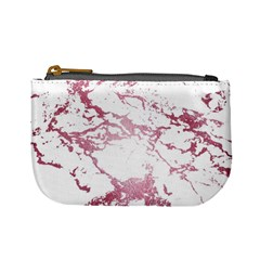 Luxurious Pink Marble 4 Mini Coin Purses