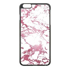Luxurious Pink Marble 4 Apple Iphone 6 Plus/6s Plus Black Enamel Case by tarastyle