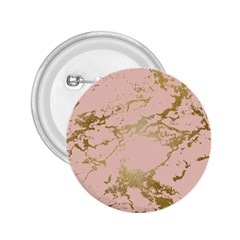 Luxurious Pink Marble 5 2 25  Buttons