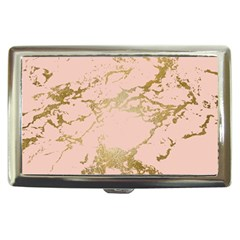Luxurious Pink Marble 5 Cigarette Money Cases by tarastyle