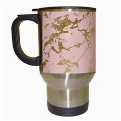 Luxurious Pink Marble 5 Travel Mugs (white) by tarastyle