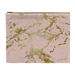 Luxurious Pink Marble 5 Cosmetic Bag (xl) by tarastyle