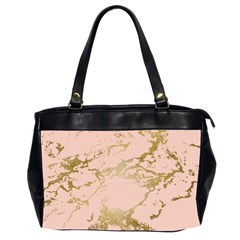 Luxurious Pink Marble 5 Office Handbags (2 Sides)  by tarastyle