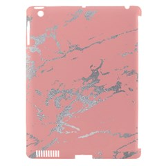 Luxurious Pink Marble 6 Apple Ipad 3/4 Hardshell Case (compatible With Smart Cover) by tarastyle