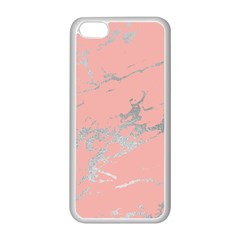 Luxurious Pink Marble 6 Apple Iphone 5c Seamless Case (white) by tarastyle