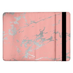 Luxurious Pink Marble 6 Samsung Galaxy Tab Pro 12 2  Flip Case by tarastyle