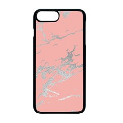 Luxurious Pink Marble 6 Apple Iphone 7 Plus Seamless Case (black)