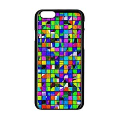 Colorful Shapes On A White Background Apple Iphone 6/6s Black Enamel Case	$10 by LalyLauraFLM