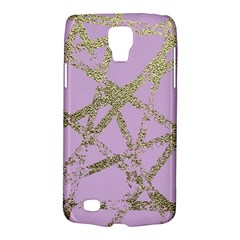 Modern,abstract,hand Painted, Gold Lines, Pink,decorative,contemporary,pattern,elegant,beautiful Galaxy S4 Active by 8fugoso