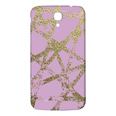 Modern,abstract,hand Painted, Gold Lines, Pink,decorative,contemporary,pattern,elegant,beautiful Samsung Galaxy Mega I9200 Hardshell Back Case by 8fugoso