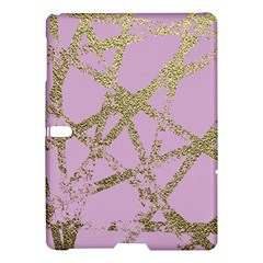 Modern,abstract,hand Painted, Gold Lines, Pink,decorative,contemporary,pattern,elegant,beautiful Samsung Galaxy Tab S (10 5 ) Hardshell Case  by 8fugoso