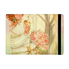 Beautiful Art Nouveau Lady Apple Ipad Mini Flip Case by 8fugoso