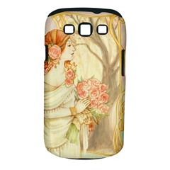 Beautiful Art Nouveau Lady Samsung Galaxy S Iii Classic Hardshell Case (pc+silicone) by 8fugoso