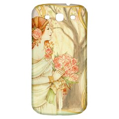 Beautiful Art Nouveau Lady Samsung Galaxy S3 S Iii Classic Hardshell Back Case by 8fugoso