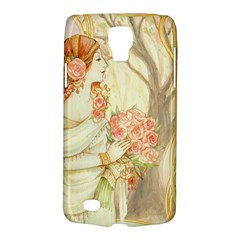 Beautiful Art Nouveau Lady Galaxy S4 Active by 8fugoso