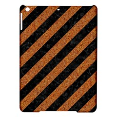 Stripes3 Black Marble & Rusted Metal (r) Ipad Air Hardshell Cases by trendistuff