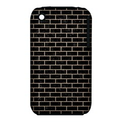 Brick1 Black Marble & Sand (r) Iphone 3s/3gs by trendistuff