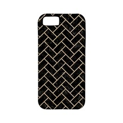 Brick2 Black Marble & Sand (r) Apple Iphone 5 Classic Hardshell Case (pc+silicone) by trendistuff