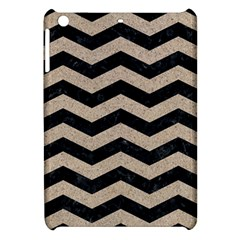 Chevron3 Black Marble & Sand Apple Ipad Mini Hardshell Case by trendistuff