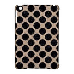 Circles2 Black Marble & Sand Apple Ipad Mini Hardshell Case (compatible With Smart Cover) by trendistuff