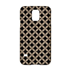 Circles3 Black Marble & Sand (r) Samsung Galaxy S5 Hardshell Case  by trendistuff