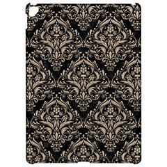 Damask1 Black Marble & Sand (r) Apple Ipad Pro 12 9   Hardshell Case by trendistuff