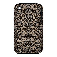 Damask2 Black Marble & Sand Iphone 3s/3gs by trendistuff